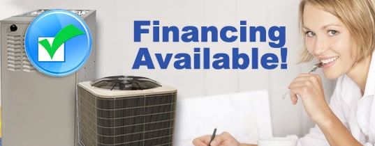 Air Conditioner & Heating Financing Available!