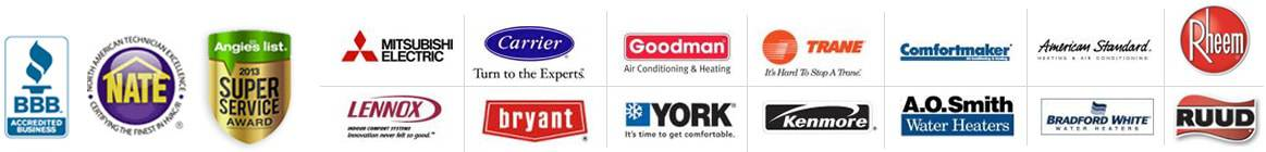 We Service All Brands of HVAC